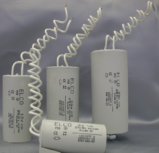 Israel enquiry for 250V lighting capacitor