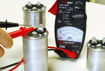 How to test a air conditioner capacitor3