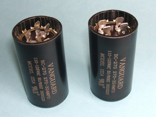 Vanguard Motor start Capacitors