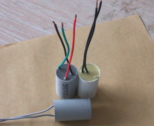 Brasil inquiry ac fan capacitor 250V 400V gray color