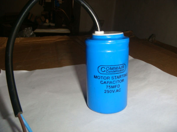 USA buy 75MF 250VAC motor start capacitor